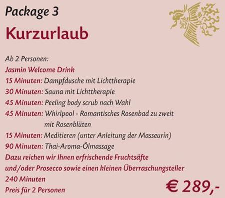 Spa Package 3 Stuttgart