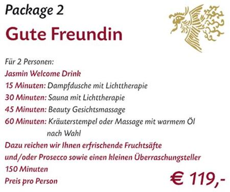 Spa Package 2 Stuttgart